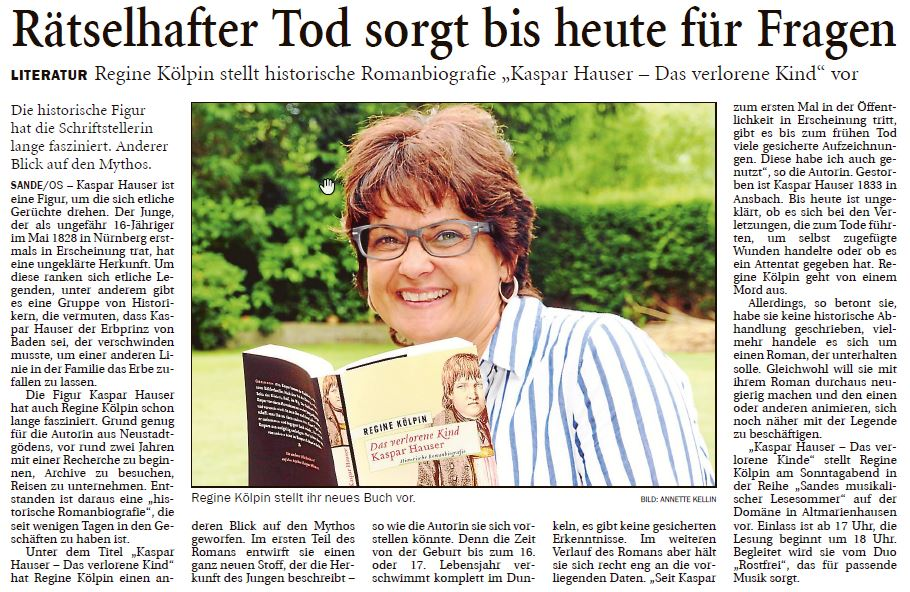 Kaspar hauser WOBLA
