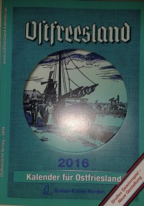 Ostfrieslandkalender 2016